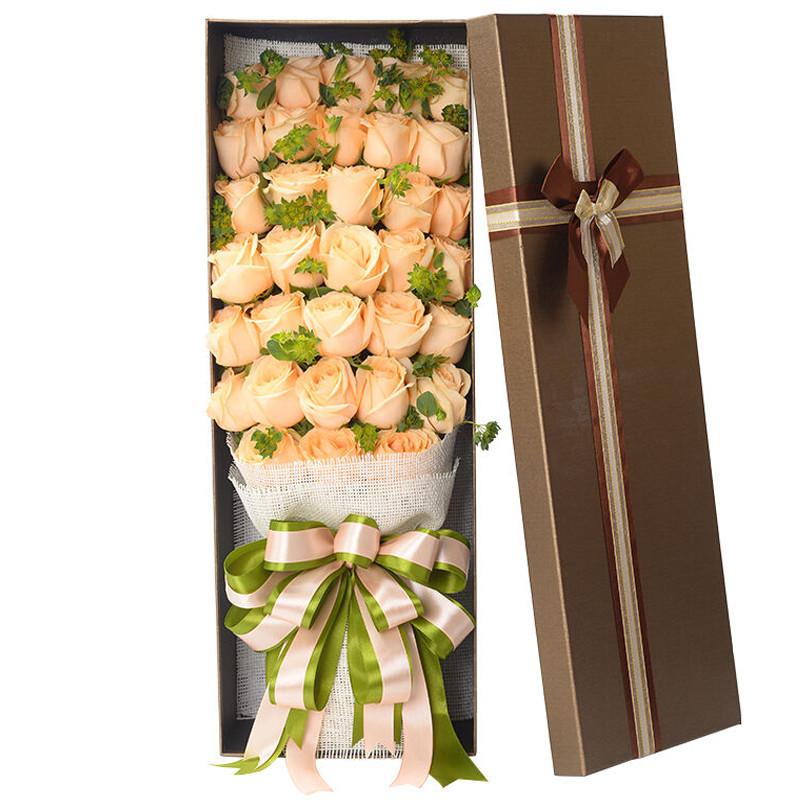 女朋友生日送花多少朵