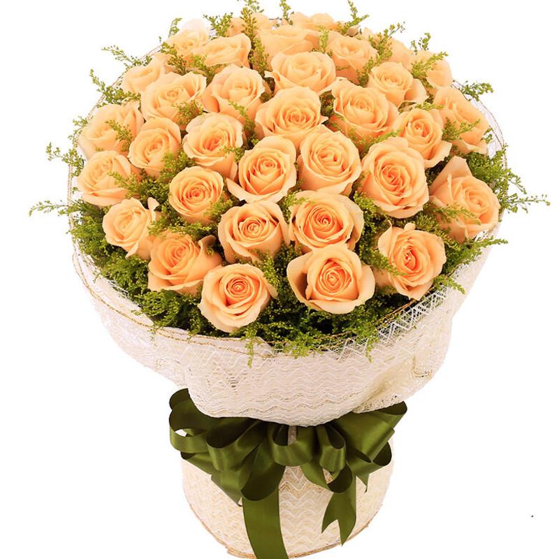 长辈生病送花