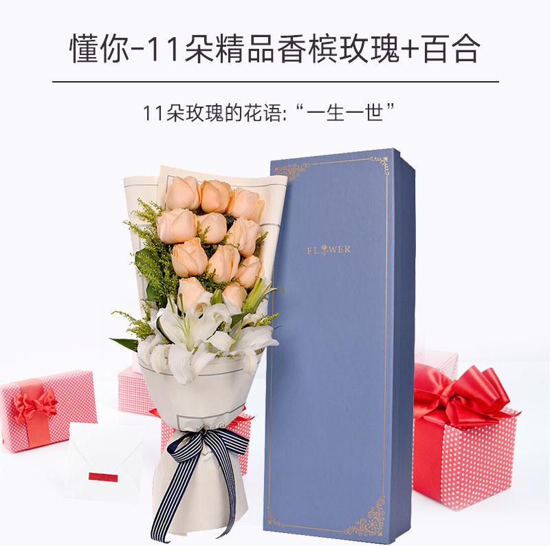 老婆朋友生日送什么花