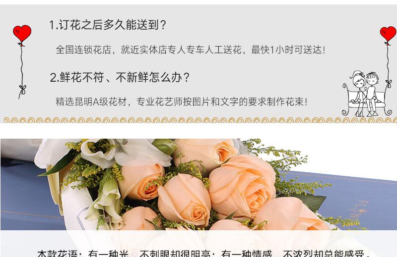 姐生日送什么鲜花