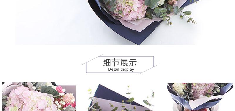 过生日送闺蜜什么花