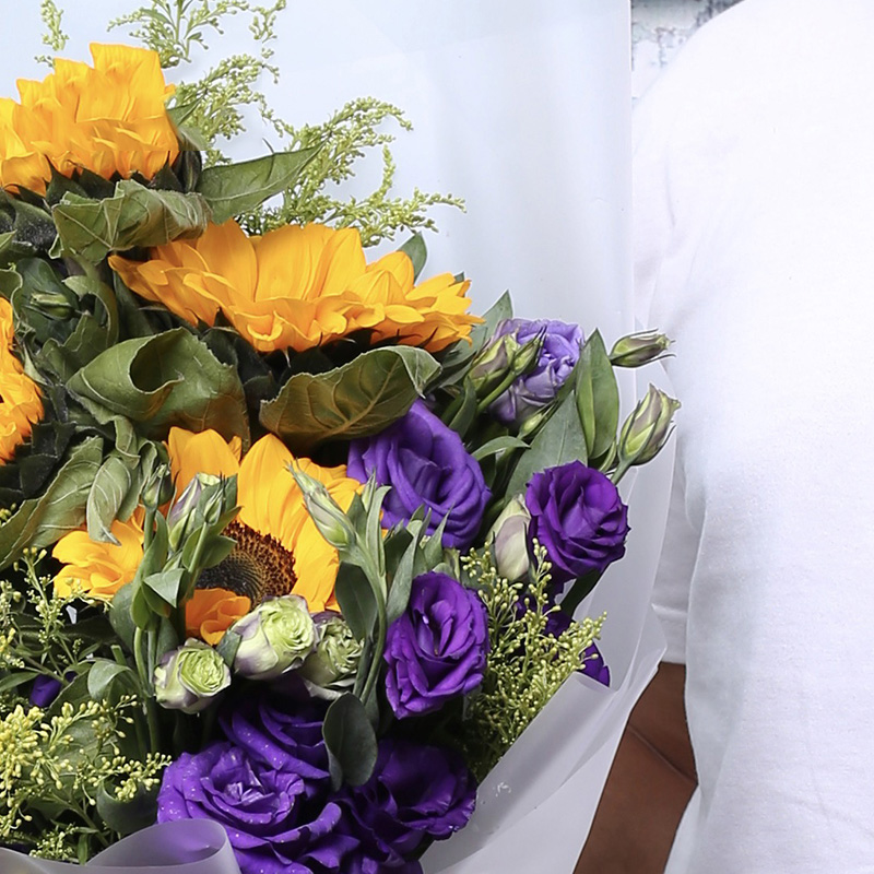 美好祝福-6支精品向日葵