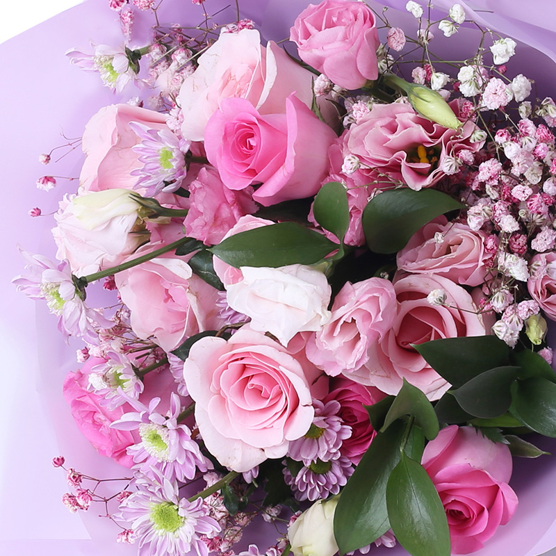 芳华年月-11支精品粉玫瑰