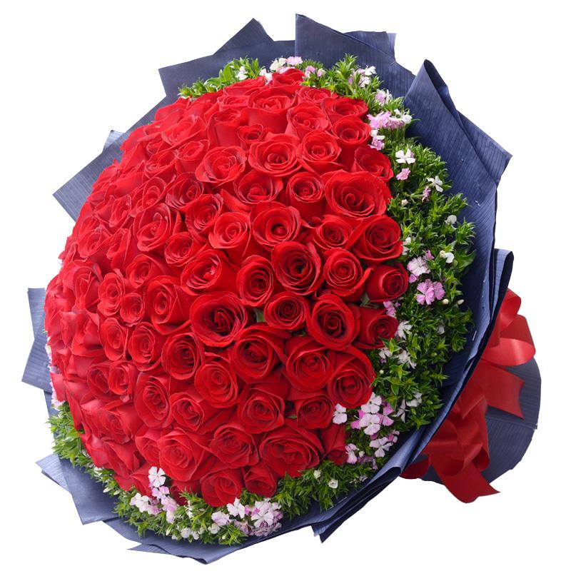 眷恋-99支精品红玫瑰