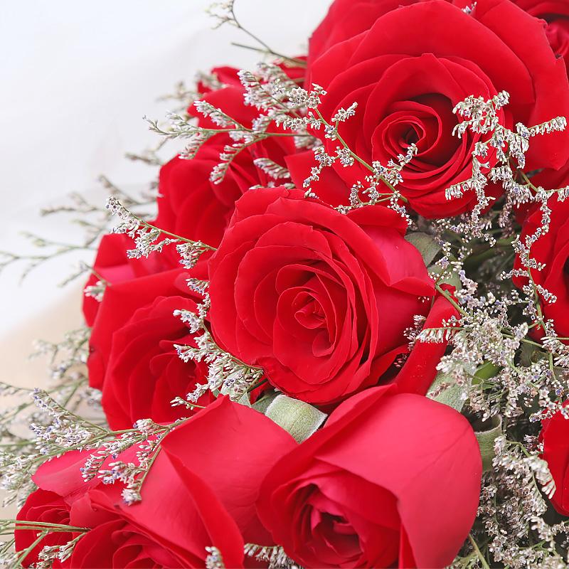 热情-19支精品红玫瑰