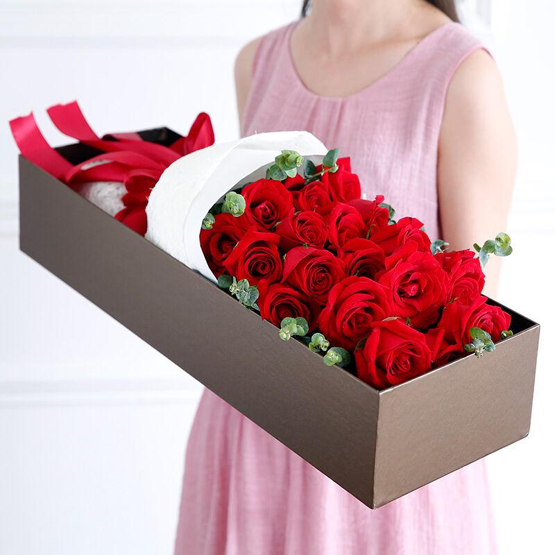 爱情誓约-19支精品红玫瑰