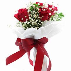 至死不渝-4支精品红玫瑰