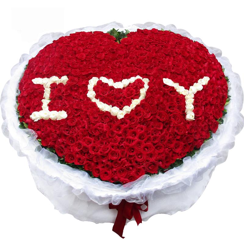 嫁给我吧-520支精品红玫瑰