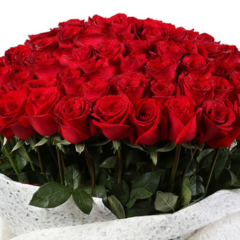 花火-99支精品红玫瑰