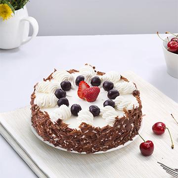 鲜奶巧克力蛋糕
