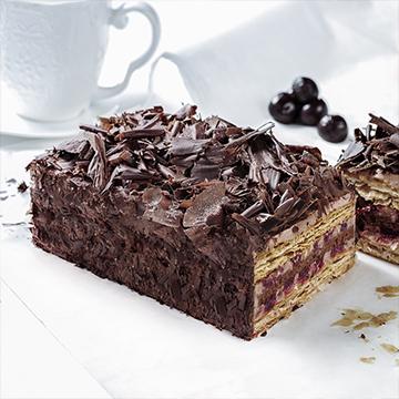 巧克力拿破仑蛋糕