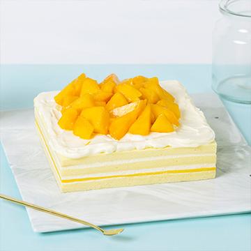 芒果鲜奶蛋糕