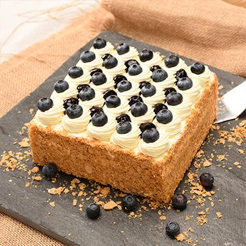 蓝莓拿破仑蛋糕