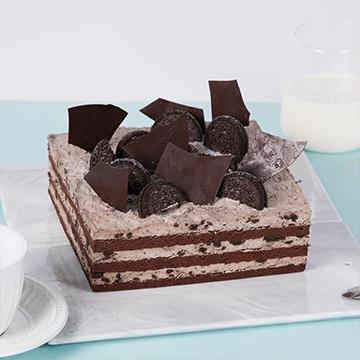 奥利奥+巧克力奶油蛋糕