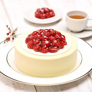 樱桃冻芝士慕斯蛋糕