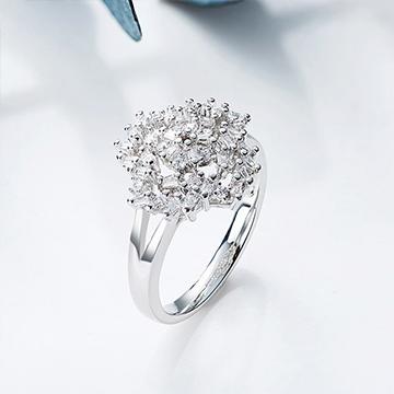 复古镶钻锆石戒指