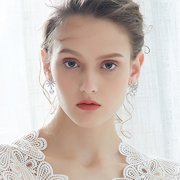S925纯银珍珠耳饰