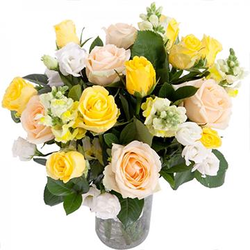 春暖花开-14支亚博体育官方通道混色玫瑰