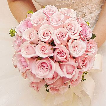 同舟共度-新娘手捧花