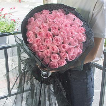 心动-66支精品粉玫瑰