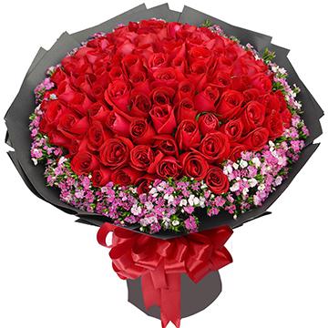 爱你到永远-99支亚博体育官方通道红玫瑰