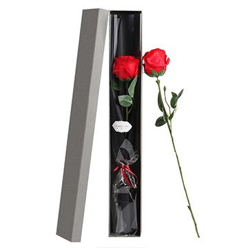 纯粹的爱-1支红玫瑰礼盒装