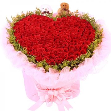 花海迤逦-99支亚博体育官方通道红玫瑰