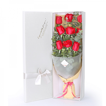 一生钟情-9支亚博体育官方通道红玫瑰
