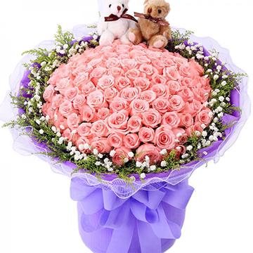 为你而梦-99支亚博体育官方通道粉玫瑰