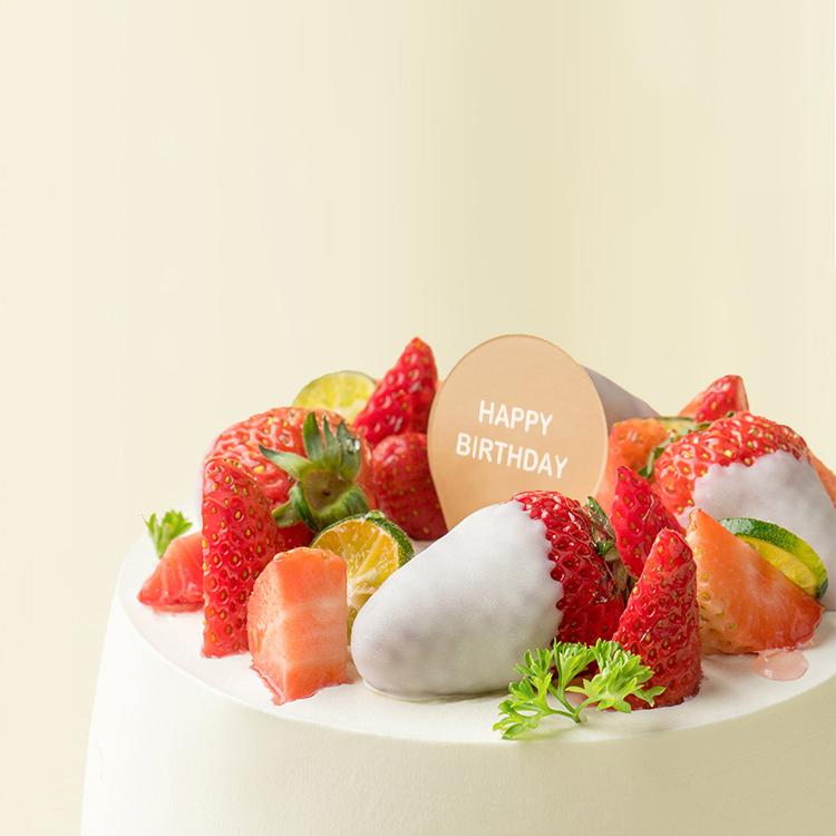 草莓白日梦水果蛋糕