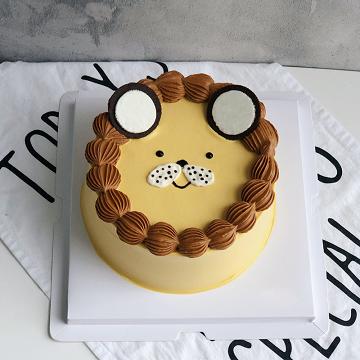 小狮子儿童鲜奶蛋糕