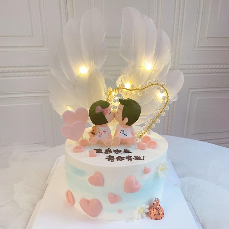 网红恋人蛋糕
