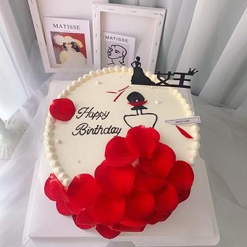 女王风网红奶油蛋糕