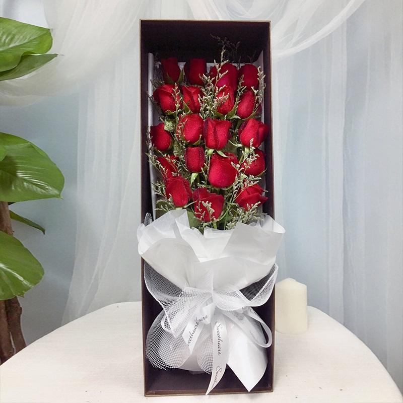 幸福永久-19支精品红玫瑰