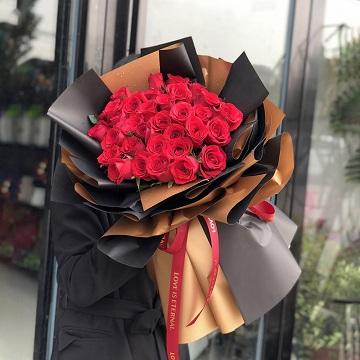 向幸福出发-33支精品红玫瑰