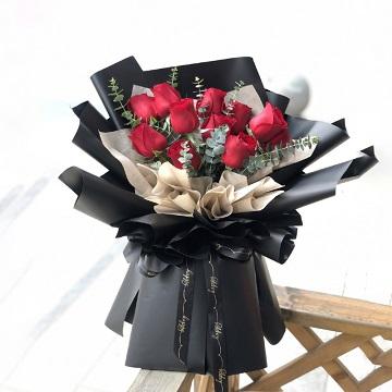 一份情思-11支精品红玫瑰