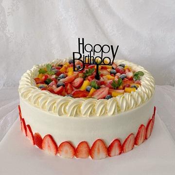 12寸水果满满鲜奶蛋糕