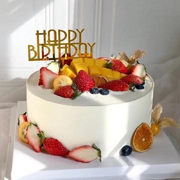简约款网红水果蛋糕