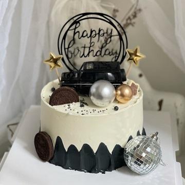 奔驰大G送男生主题蛋糕