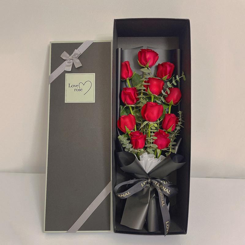 為你動心-11支精品紅玫瑰