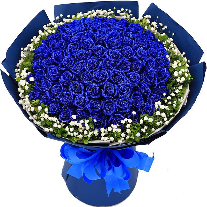 蓝色妖姬的花语是什么?适合送给女友吗?